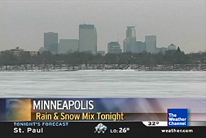Weather Channel Photograph Screen Cap 1/12/2006