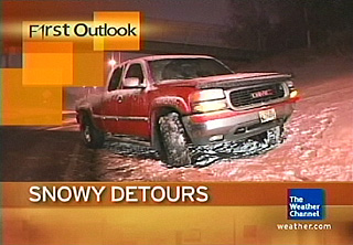 1/17/2006 Bad Road Conditions Video