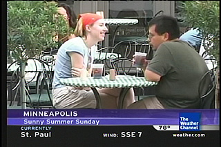 9/11/05 Playing Weather Channel Photogrpher