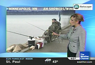 11/13/2005  Playing Weather Channel Photographer