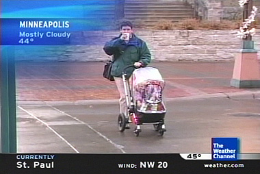 11/21/2005  Playing Weather Channel Photographer