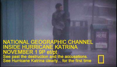 National Geographic, Inside Hurricane Katrina Promo