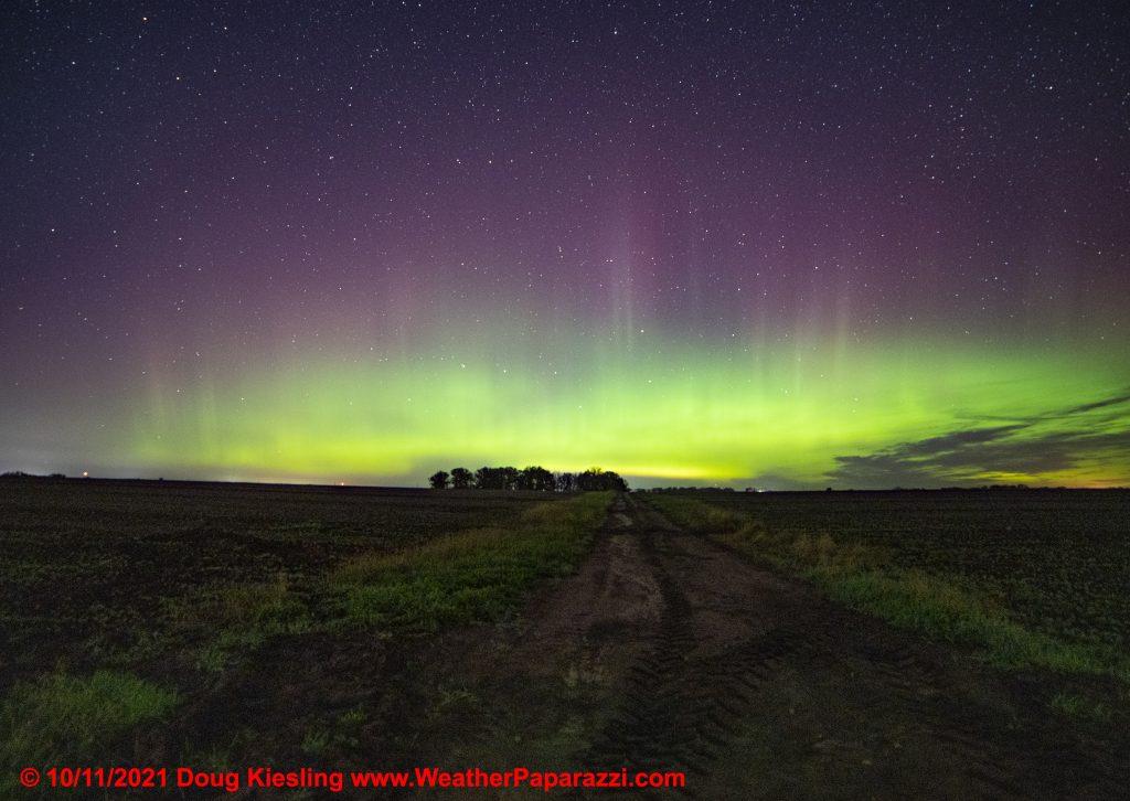Aurora Borealis over Minnesota
